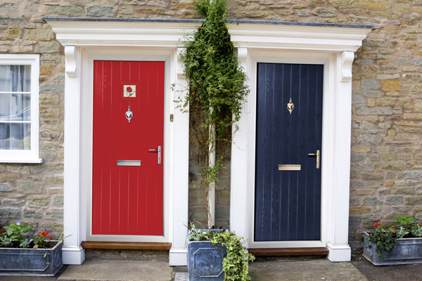 Choosing to purchase a new door for the front of a home offers many  benefits that go beyond the simple act of improving the look of the  residence.